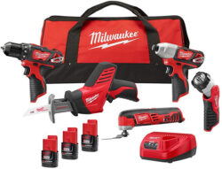 Hot Deal: Milwaukee M12 5-Tool Cordless Power Tool Combo Kit