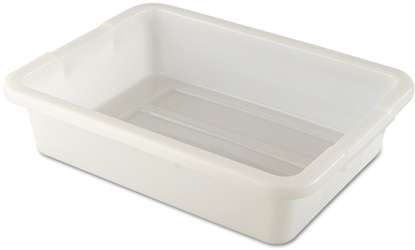 Rubbermaid White Utility Bin