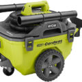 Ryobi 18V One+ Wet Dry Cordless Vacuum Side
