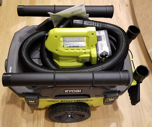 Ryobi 18V Wet Dry Cordless Vacuum