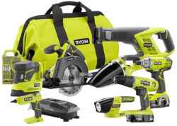 Deal of the Day: Ryobi 18V Cordless Power Tool Combo Kit (12/28/17)
