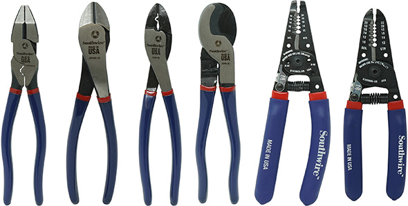 Southwire USA-Made Pliers Strippers and Cutting Tools