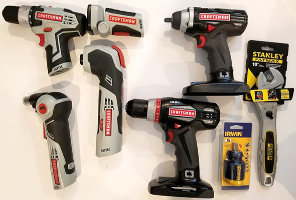 Craftsman C3 and 12V Max Giveaway Prize Bundle