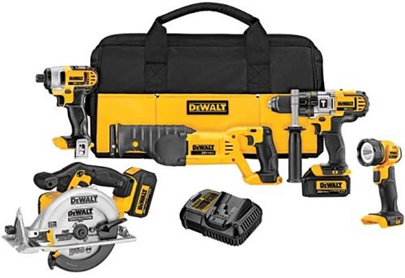 Dewalt DCK592L2 20V Max Cordless Power Tool Combo Kit