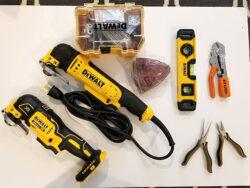 Dewalt Oscillating Multi-Tool Giveaway Prize Bundle
