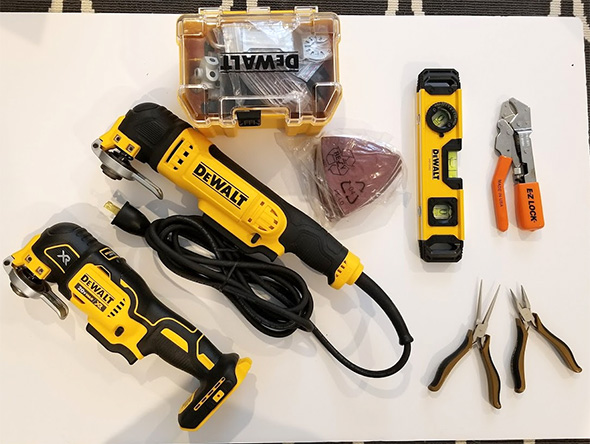 Dewalt Oscillating Multi-Tool Giveaway Prize Bundle