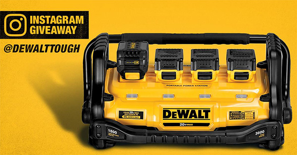 Dewalt Portable Power Station Facebook Promo