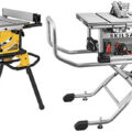Dewalt vs Skilsaw Rolling Stand Portable Table Saw