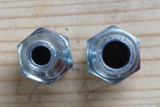 High Flow Plug Opening