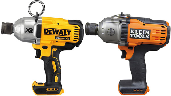 Klein vs Dewalt Impact Wrench Comparison