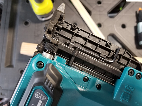 Makita Pin Nailer Depth Adjustment