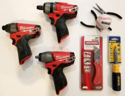 ToolGuyd Cleanup Giveaway #2: Milwaukee M12 Fuel Screwdriver & Impact Tools, + Extras