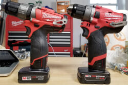 "Oops, I was Using a Milwaukee M12 Fuel Drill in ""Hammer"" Mode While Drilling Wood"