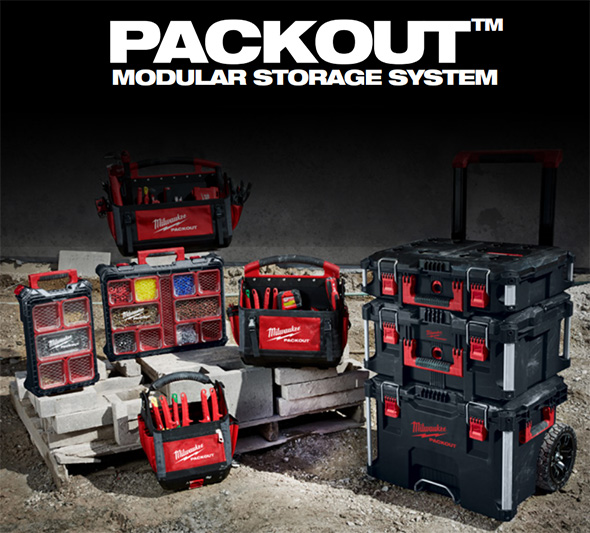 Milwaukee Packout Europe Tool Boxes