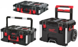 Milwaukee Packout Tool Boxes in Black