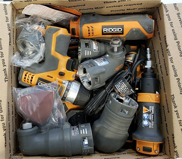 Ridgid JobMax and 12V Max Giveaway Prize Bundle