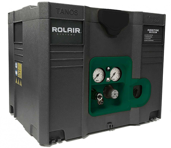 Rolair AirStak Air Compressor in a Systainer Tool Box