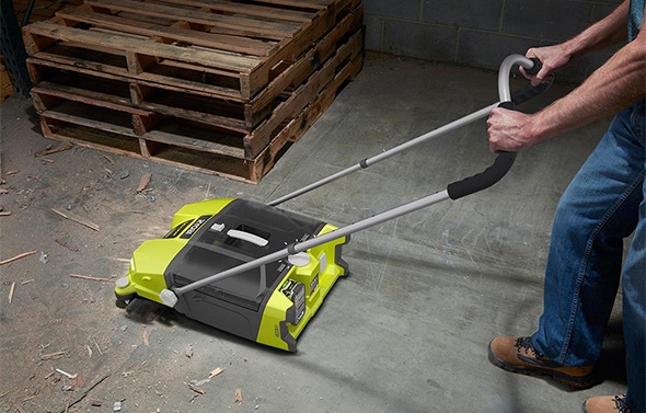 New Ryobi Devour 18v Cordless Sweeper Looks To Be A Great