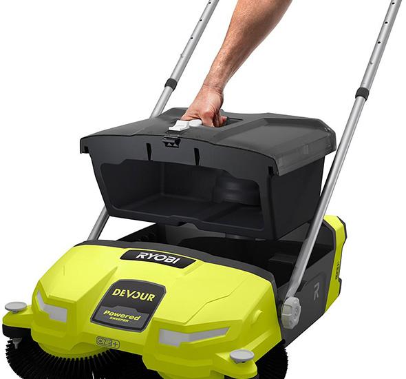 Ryobi Devour Cordless Sweeper Dust Bin