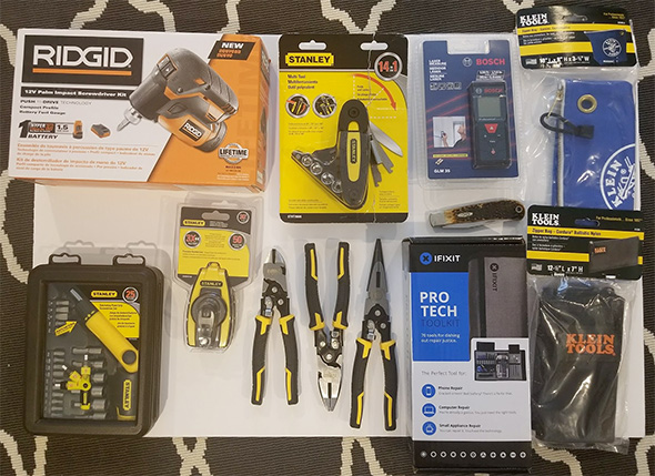 ToolGuyd Cleanup Giveaway Number 1 - January 9th 2018