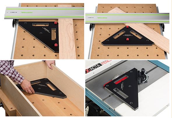 Woodpeckers MFT Square Setup Tool Uses