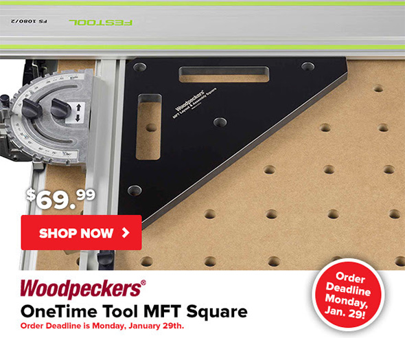 Woodpeckers MFT Square Setup Tool