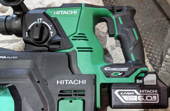18V Battery on a Hitachi MV tool