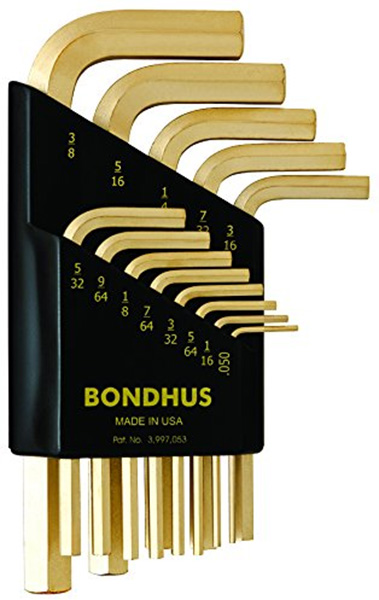 Bondhus Straight Hex Keys