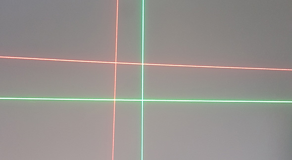 Bosch Lasers Green and Red