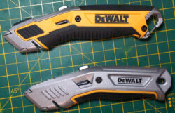 Dewalt Premium Utility Knife Blade Change Issues and Resolution