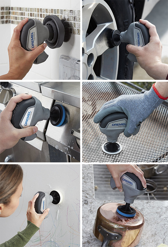 Dremel Versa Cordless Cleaning Tool Uses and Applications