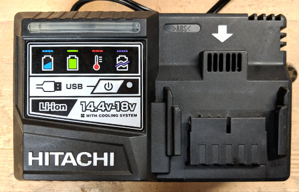 Hitachi Battery Charger