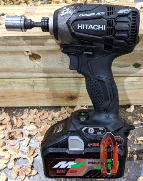 Hitachi MV 36V Triple Hammer Impact Driver