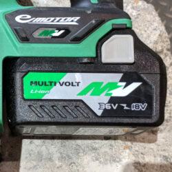 Hitachi MultiVolt Battery Hero