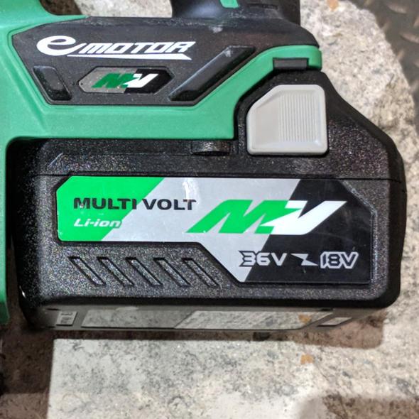 Hitachi MultiVolt Battery Hero