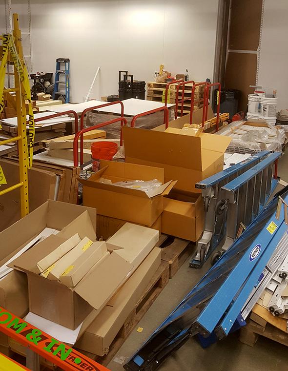 Ikea Renovation Mess