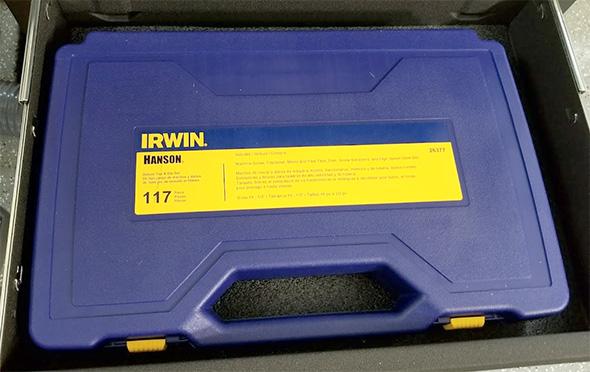 Irwin Hanson Tap and Die Set Case