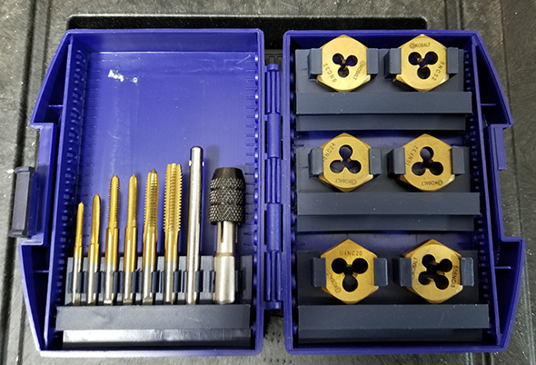 Kobalt Tap and Die Set