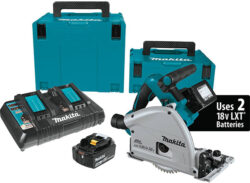 Incredible Makita 18V X2 Brushless Track Saw Bundle Deal
