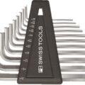 PB Swiss Straight Hex Keys Inch Sizes