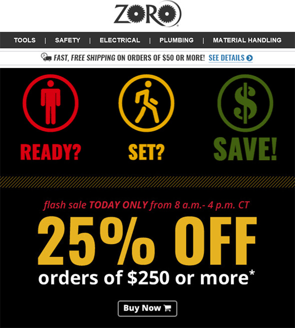 Zoro Flash Sale Feb 2018