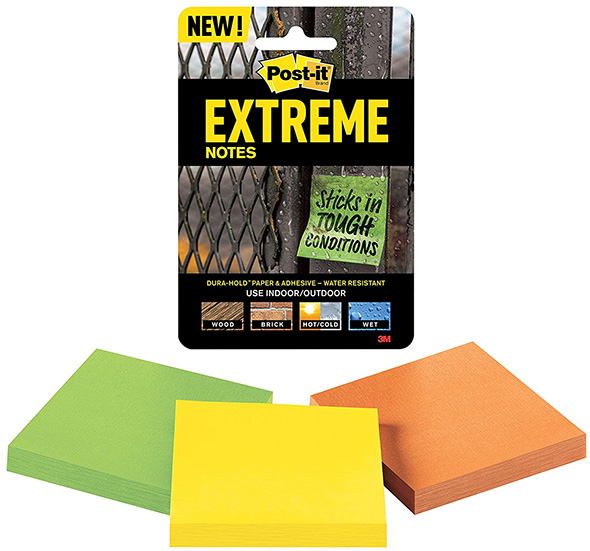 3M Extreme Post-It Notepads