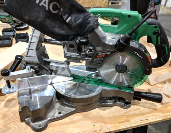 Hitachi MV 36V Miter Saw
