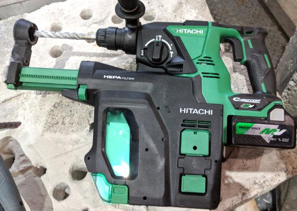 Hitachi MV 36V Rotary Hammer
