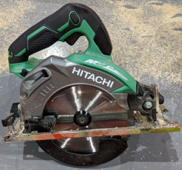 Hitachi MV 36V six and one quarter inch Circular Saw