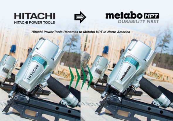 Hitachi Power Tool Renames to Metabo HPT