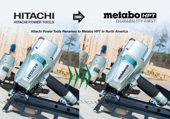 Hitachi Power Tool Renames to Metabo HPT