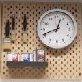 Ikea Pegboard Closeup