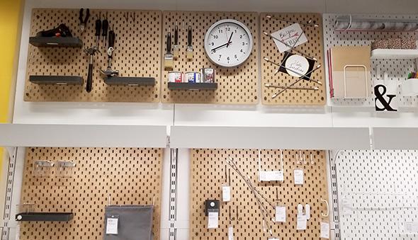 Ikea Pegboard