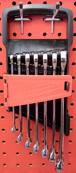 Milwaukee Combination Wrench Small Metric Set
